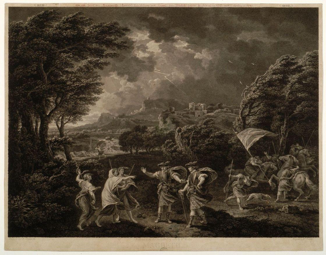 Macbeth par Woollet, William