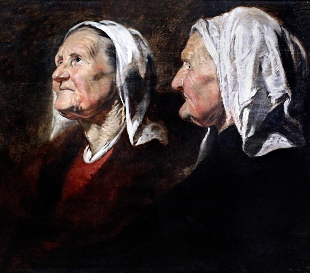 """""""IMG_4203I Jacob Jordaens. 1593-1678. Anvers. Tête de vieille femme. Old woman's head. 1620. Nancy. Musée des Beaux Arts"""" by jean louis mazieres is licensed under CC BY-NC-SA 2.0"""